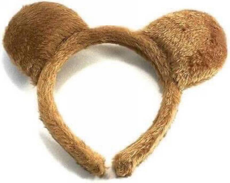 TEDDY BEAR EARS Headband  Dance Costume