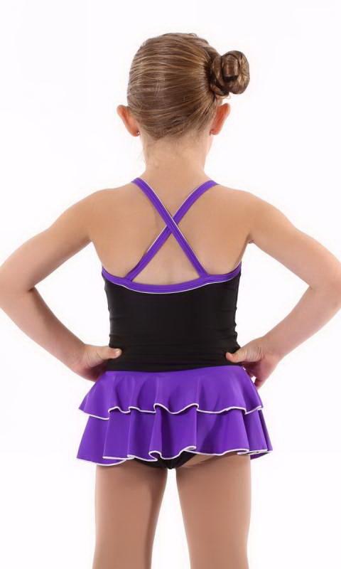 Black + Bright Violet - 1015