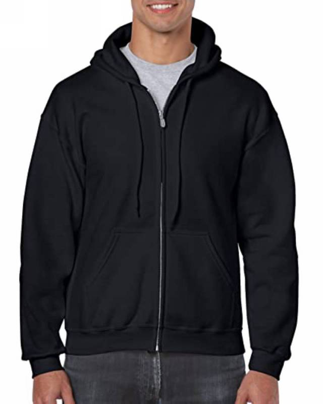 GILDAN Fleece Zip Hooded Zip Jacket- 18600 Dance Studio Uniform