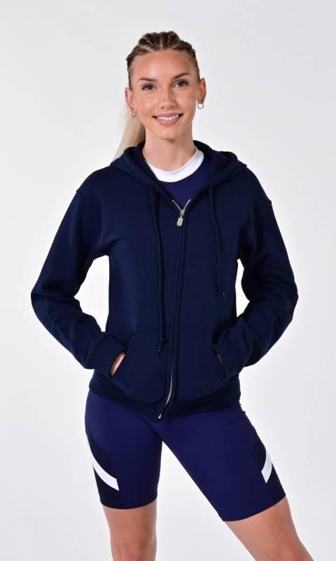 GILDAN Fleece Zip Hooded Zip Jacket- 18600 Dance Studio Uniform