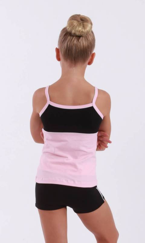 CLASSIQUE TOP - Supplex Ballet Pink black and white