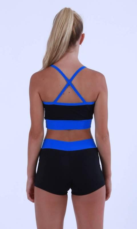 Black + Royal Blue