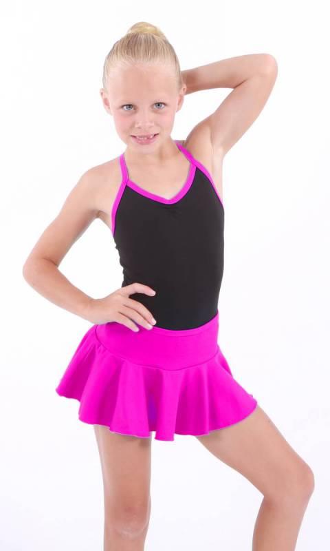 MADDISON Frill Skirt - Fuschia