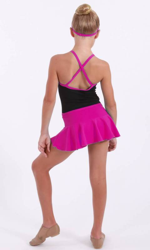 Hot Pink Cotton Lycra