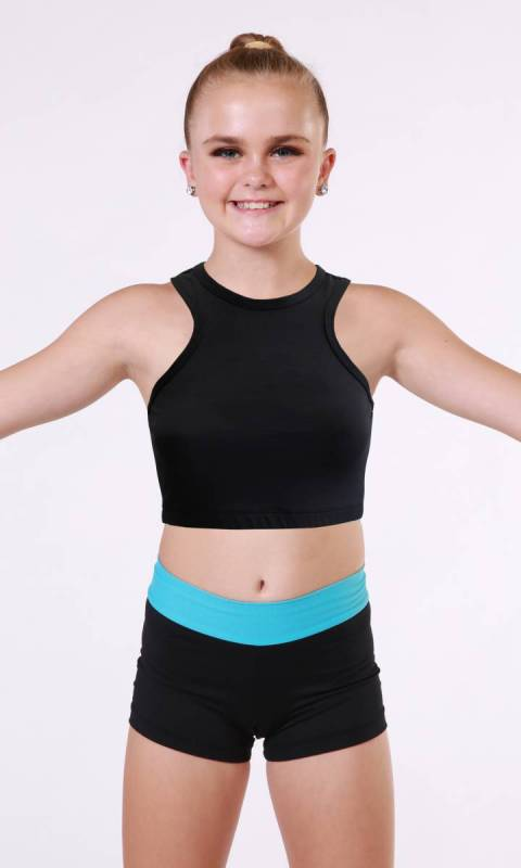 Piper Crop Top Dance Studio Uniform
