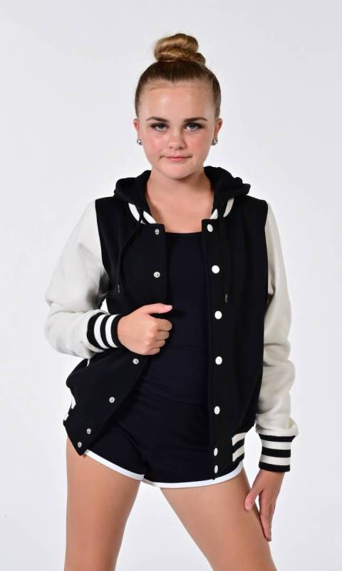 Varsity Hooded JUNIOR/LADIES Jacket Dance Studio Uniform
