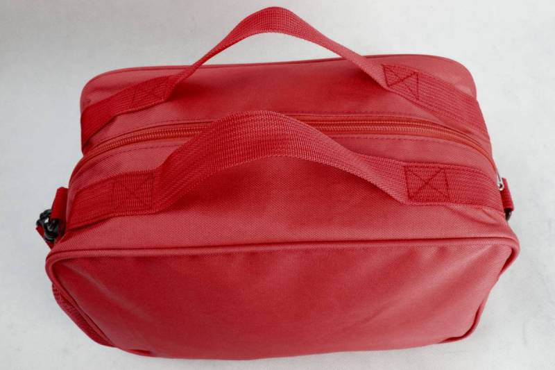 Kinetic Dance Bag in Red - Small