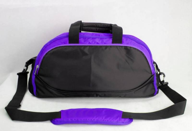 Dance Bag KC - Medium -  Black + Purple no 57 on colour chart