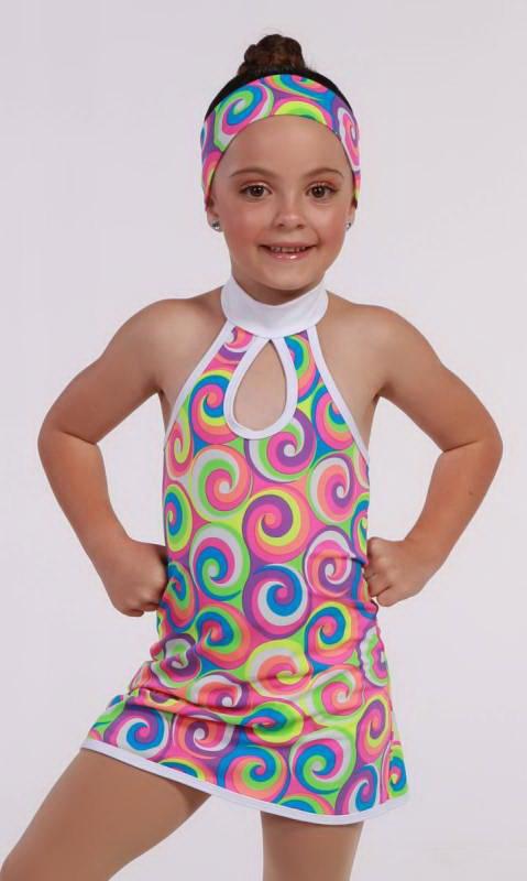 ABBA DRESS Dance Costume