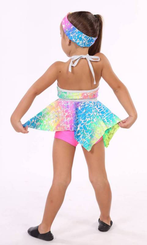 Hanky Panky - Ombre foil print Blue pink and yellow