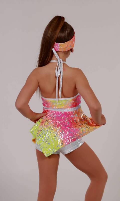 Hanky Panky - Ombre Foil Print yellow orange and pink