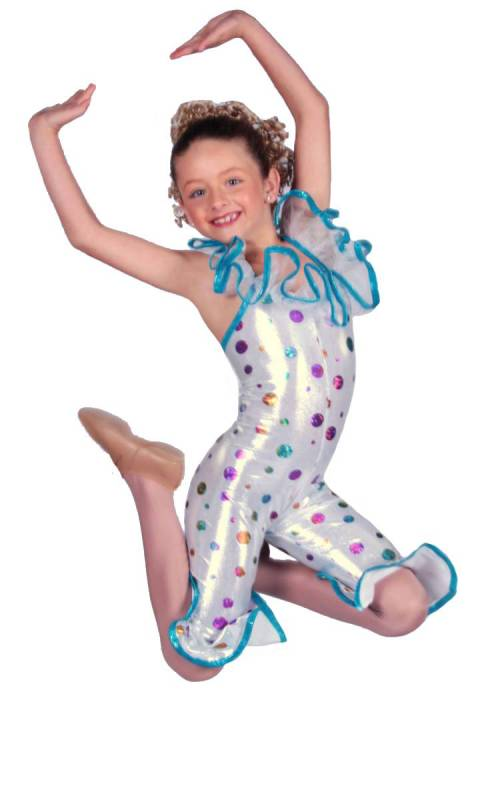 CURLY SHUFFLE Dance Costume