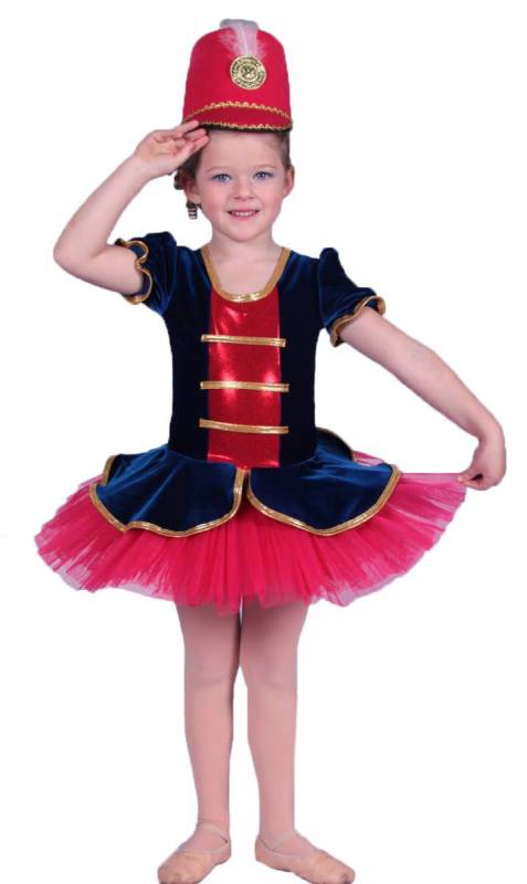 MARCHING GIRL tutu topper Dance Costume