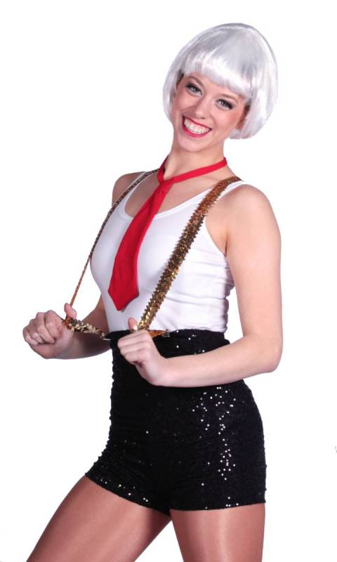 ZSA ZSA HIGH WAIST SHORTS Dance Costume