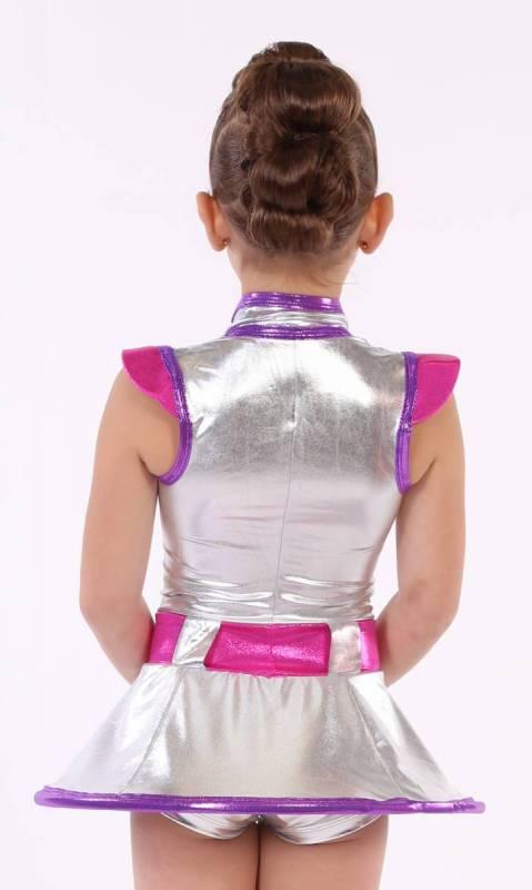 STAR WARS - Silver foil fuschia and purple