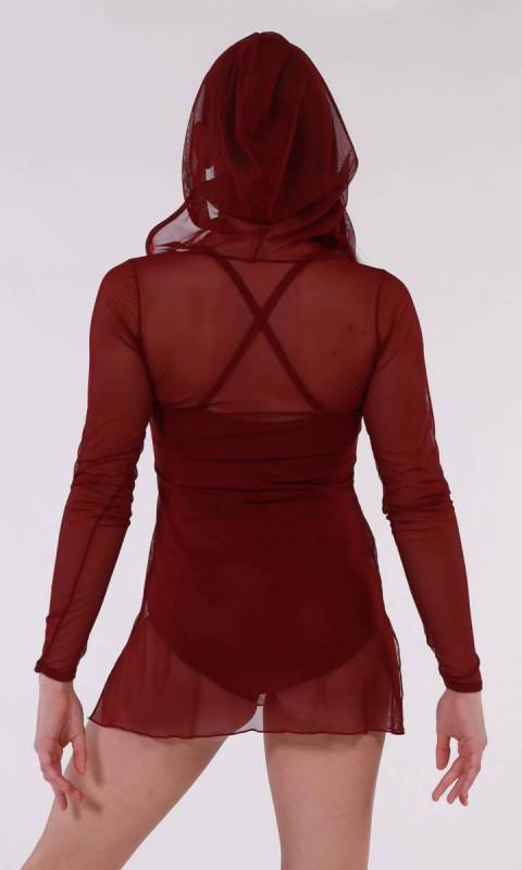 CAPTIVATE - MESH  - Burgundy
