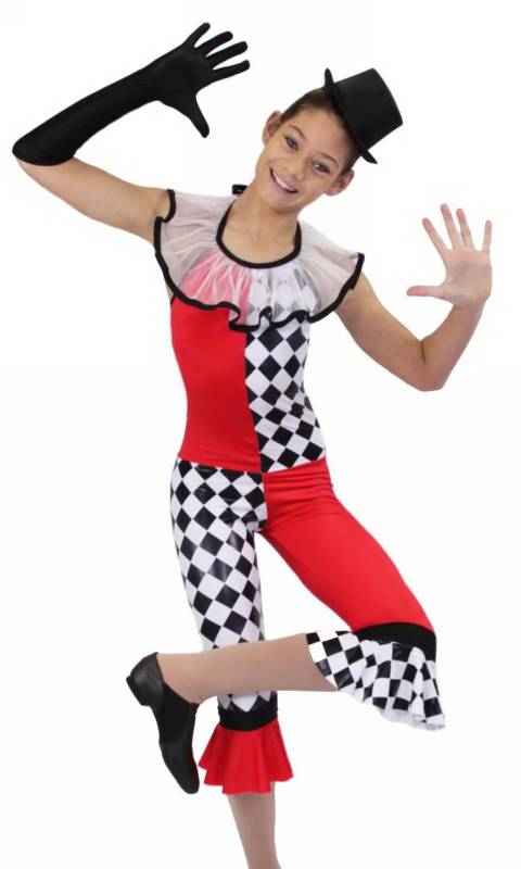 FUNKY CLOWN Dance Costume