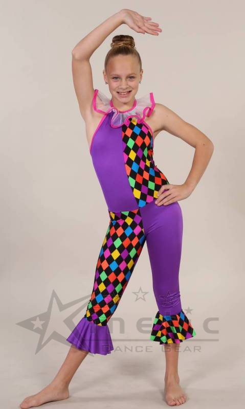 477a0f8f8f71 Kinetic Creations - FUNKY CLOWN Dance Costumes and Studio Uniforms