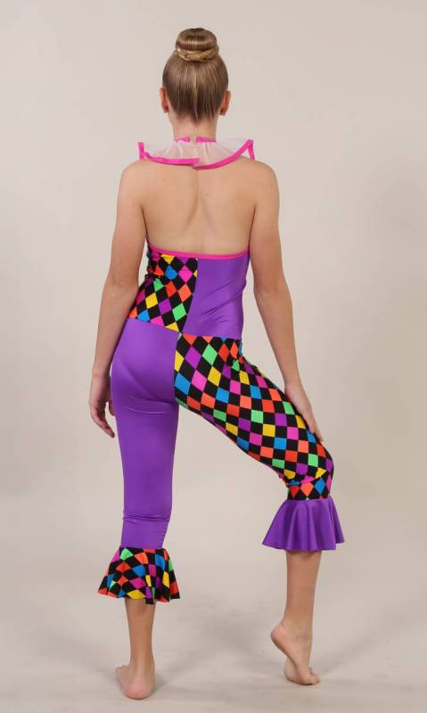 FUNKY CLOWN - PURPLE PINK TRIM KCDC