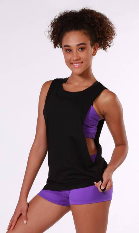 Punk Rock Tank Dance Costume