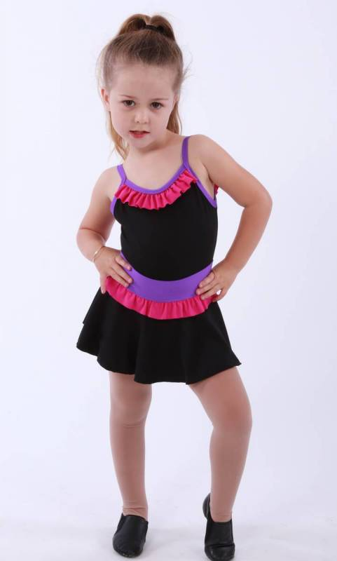 ZARLY frill skirt Dance Studio Uniform