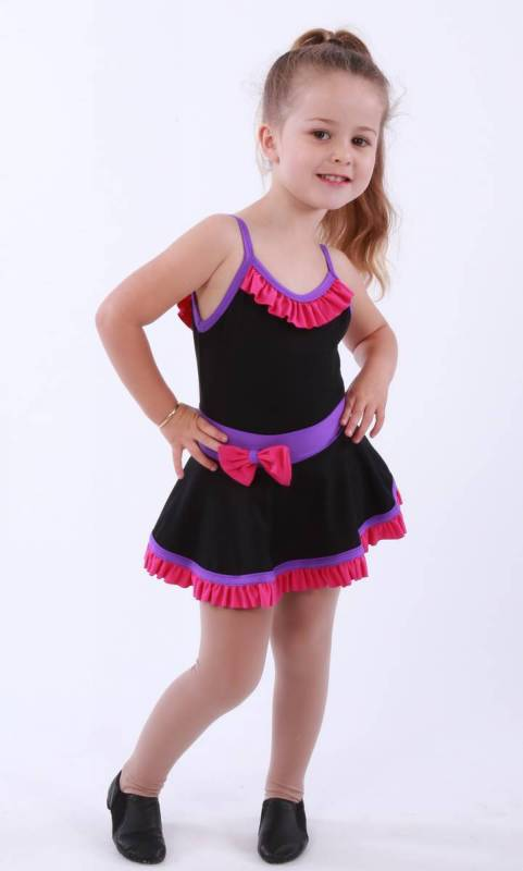 ZARLY frills and bows skirt Dance Studio Uniform
