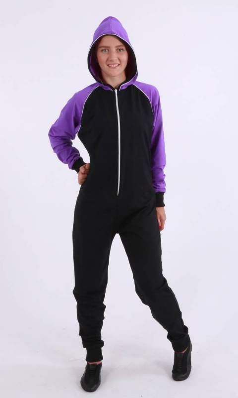 Deedie Stretch Onesey -  zip jumpsuit Dance Studio Uniform