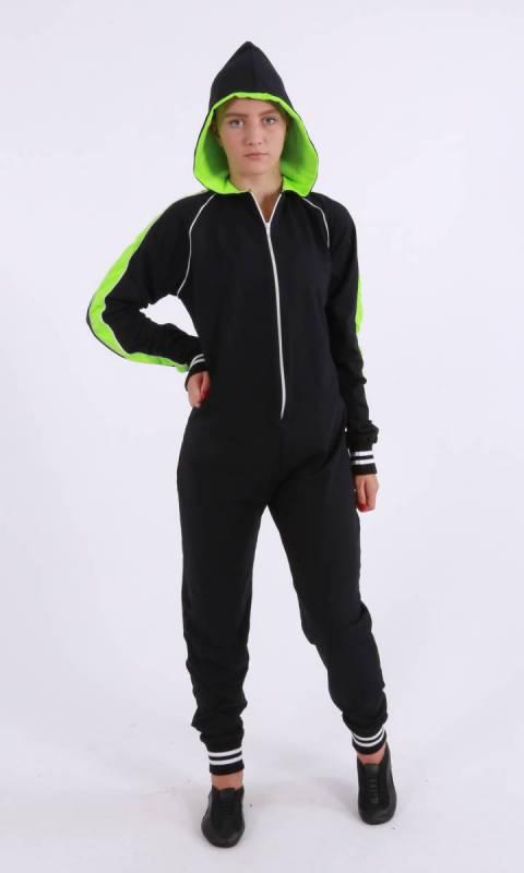 Kristi Stretch Onesey   zip jumpsuit Dance Studio Uniform