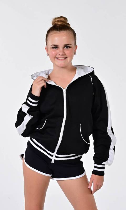 JACKET - Tracknit - Raglan Hoodie Dance Studio Uniform
