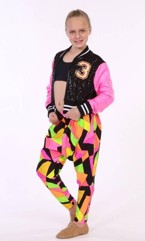 HI HAMMER - RAVE PRINT Dance Costume