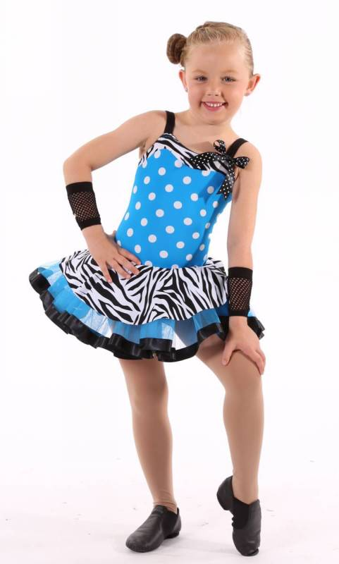 IN THE MIX  Dance Costume