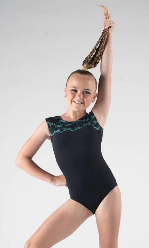 IVY LACE LEOTARD Dance Studio Uniform