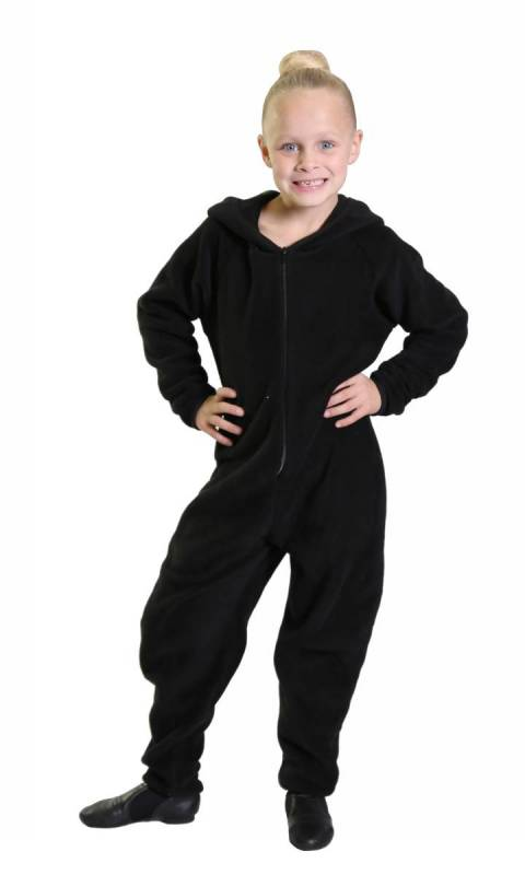 Basic Onesey all in one zip up jumpsuit Dance Studio Uniform
