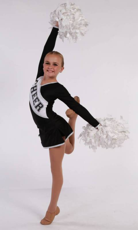 COLLEGE CHEER - Black & White