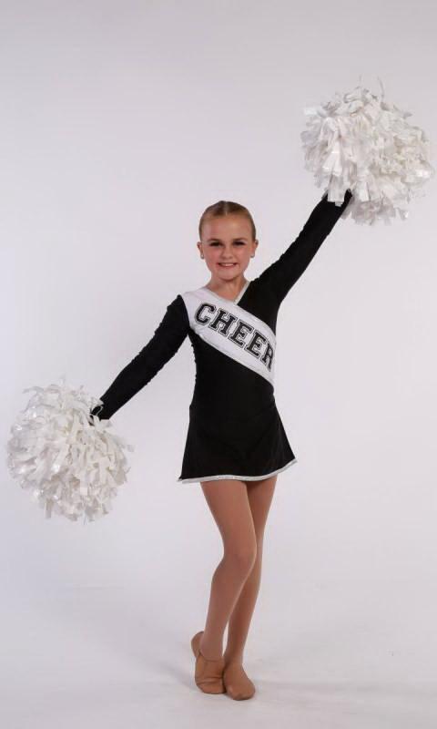 COLLEGE CHEER - Black & White