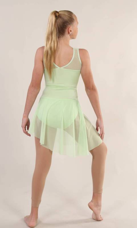 ROSEMARY  - Sage lycra and mesh