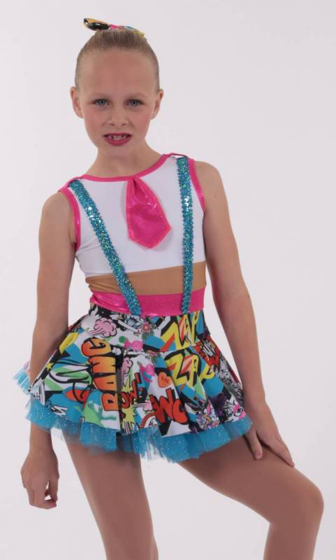 SNAP  Dance Costume