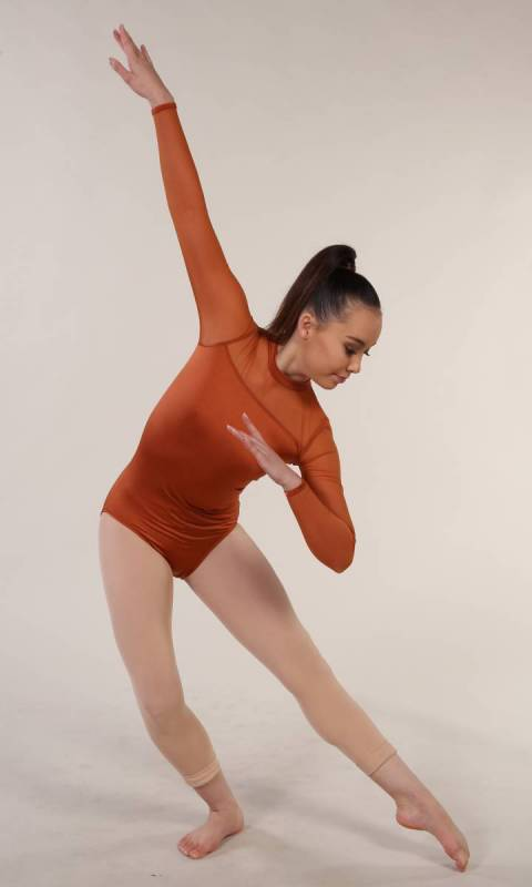 CELESTE - Leotard  - Copper