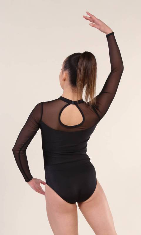 CELESTE - Leotard  - Black
