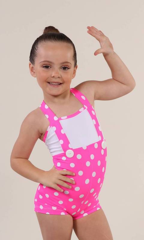 PLAYTIME  - Polka dot pink and white