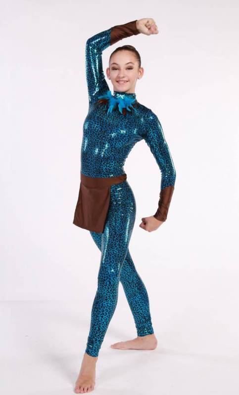 AVATAR- unitard - Tribal Dance Costume