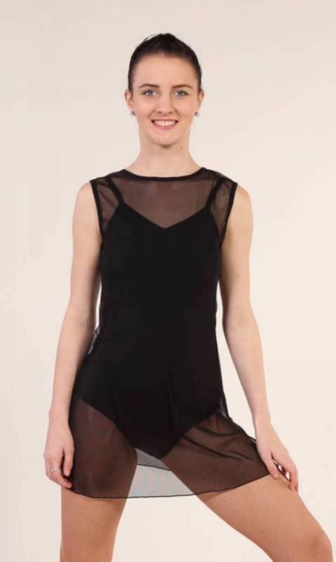 TUNIC OVERLAY - MESH Dance Costume