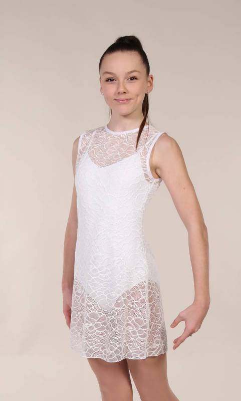 TUNIC OVERLAY - LACE  Dance Costume