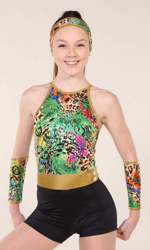 TROPPO SHORTARD include hair and armbands  Dance Costume