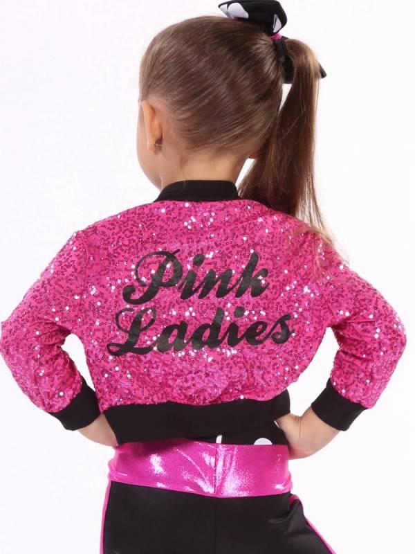 PINK LADIES - MADONNA JACKET  - Pink Zsa and Black