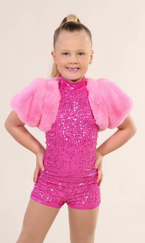 FUR SHRUG - Pink Fur