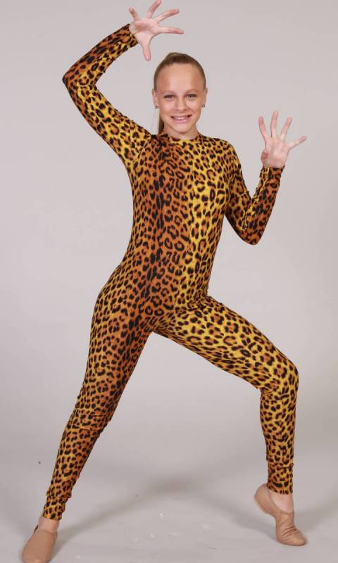 UNITARD - Spandex Prints + Headband Dance Costume
