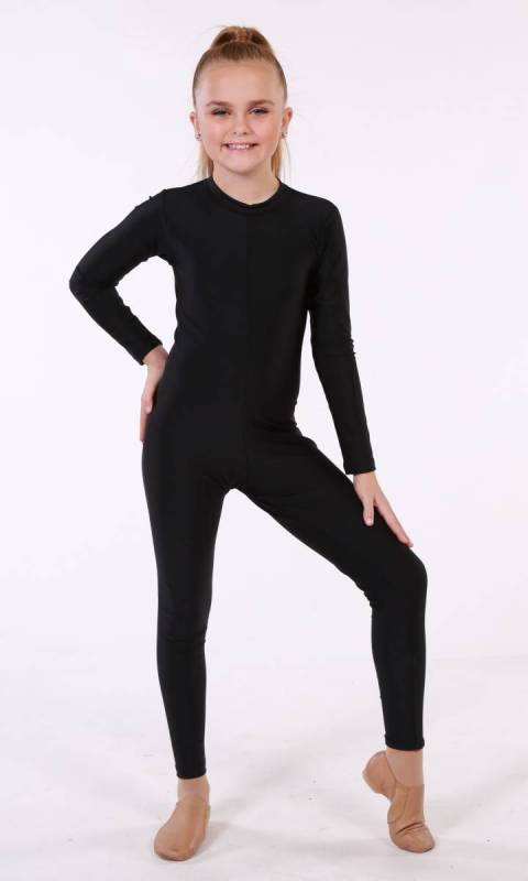UNITARD - HIGH NECK LONG SLEEVES  Dance Costume
