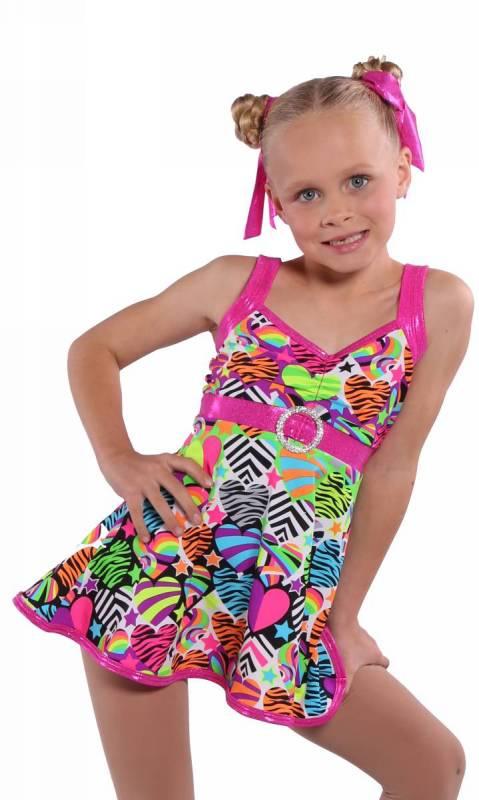 WILD HEART Dance Costume