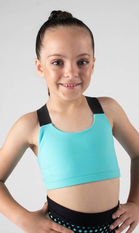 LILY CROP TOP  Dance Studio Uniform